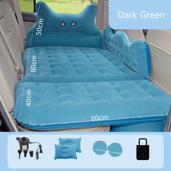 Łóżko nadmuchiwane w pojeździe materiały samochodowe w tylnym rzędzie maty do spania materace do spania poduszka powietrzna na tylnym siedzeniu łóżko samochodowe tanie i dobre opinie HAIMAITONG CN (pochodzenie)