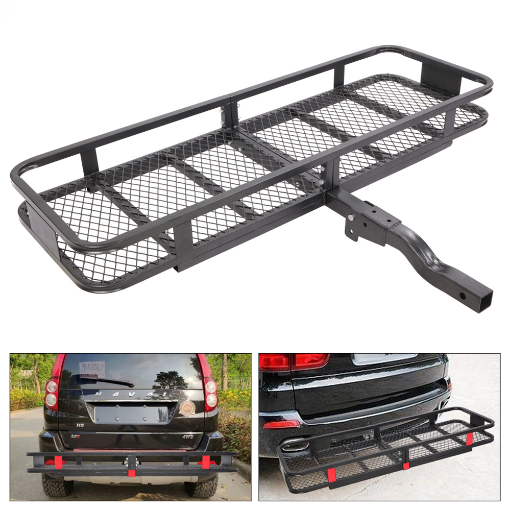 Universal Bike Rack Hitch Mount Carrier Alloy Roof Mount FOR Car Truck SUV