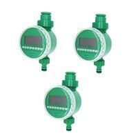 Su zamanlayıcı Bahçe Sulama Kontrol Otomatik Damla Sulama Elektronik su zamanlayıcı Bahçe Yağmurlama Denetleyici|Bahçe Su Sayaçları|   -