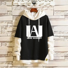 Cosplay Costume Hoodie Sweatshirts-Top Academia Todoroki Two-Piece Midoriya Shoto Izuku