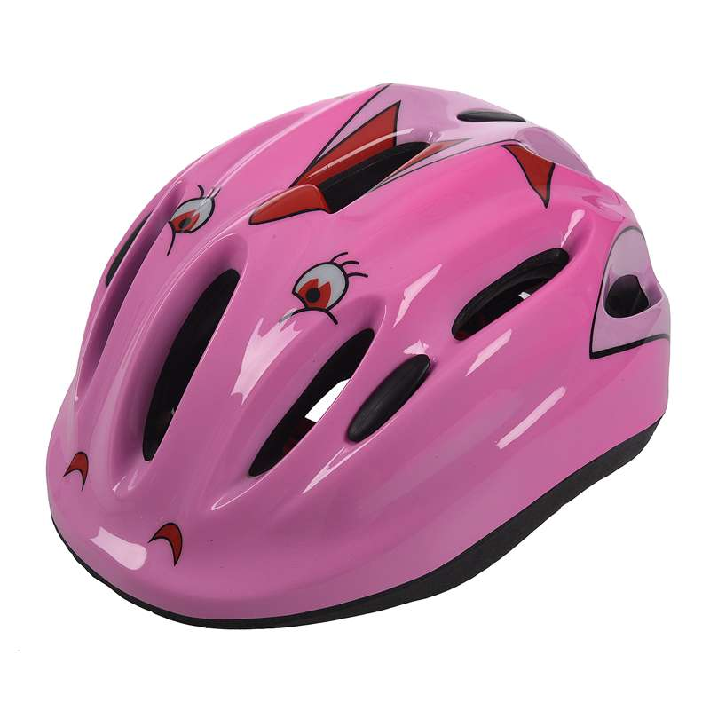 Sliding Skateboard Helmet Children Cycling Helmet Bicycle Helmet Color: Pink|Bicycle Helmet| |  -