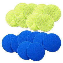 Replacement Pad for Cordless Electric Rotary Mop Sweeper Wireless Scrubber Including 8 Micr