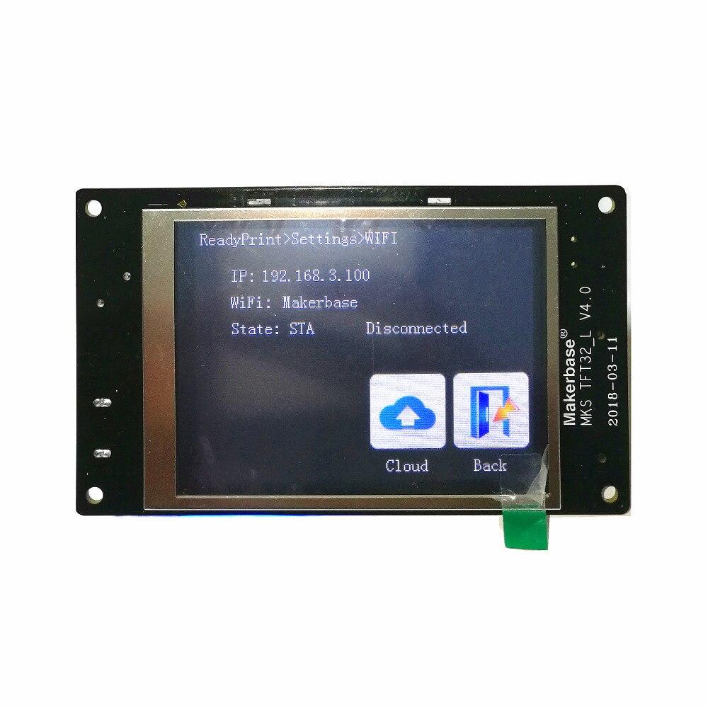 3d printer DIY full kits MKS GEN L + MKS TFT 3.2 touch screen + MKS PWC V2.0 auto power off sensor + MKS TFT WIFI smart control - 4