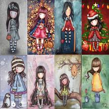 new little doll girl 2019 metal cutting dies for clear stamps and make christmas scrapbooking with paper gjcrafts die cut