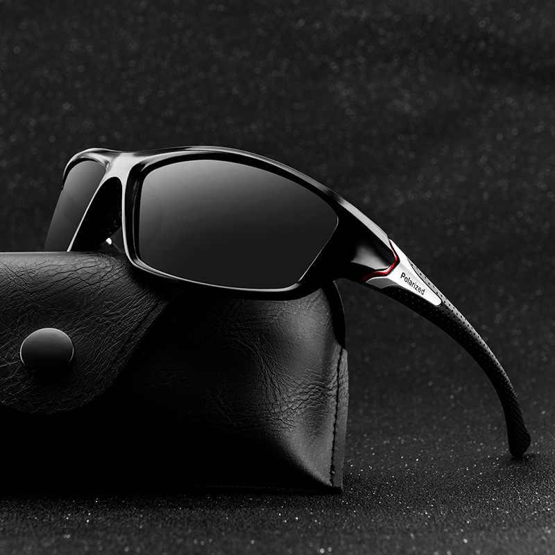 نظارات شمس عاكسة فخمة جديدة 2020 للرجال, نظارات شمس عاكسة للقيادة والسفر وصيد الأسماك للرجال
