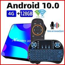 TV 박스 안드로이드 10 스마트 TV 박스 X88 프로 10 4 기가 바이트 64 기가 바이트 32 기가 바이트 Rockchip RK3318 4K TVbox 지원 구글 유튜브 셋톱 박스 x88pro 10.0