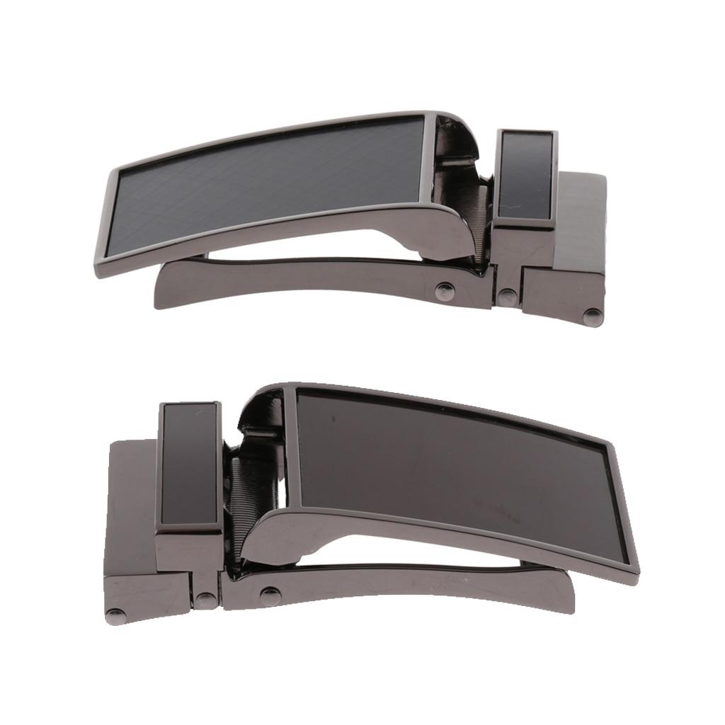 Mens Belt Buckle Automatic Slide Click Buckle Ratchet Leather Belt Buckle 3.6cm