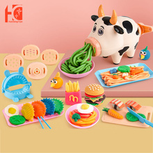 Toys Play-Set Kitchen Children's Educational-Toys Girls Kids for DIY Cow-Noodle-Machine