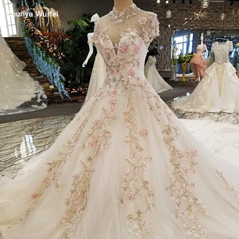 LS00317 dentelle fleurs luxe robes de soirée 2019 vestido de festa vestidos de fiesta largos elegantes de gala robe longue abiye