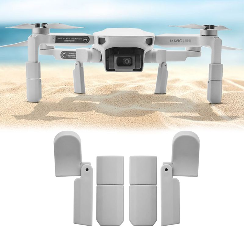 1Set Extended Landing Gear Leg Support Protector Extensions For DJI Mavic Mini