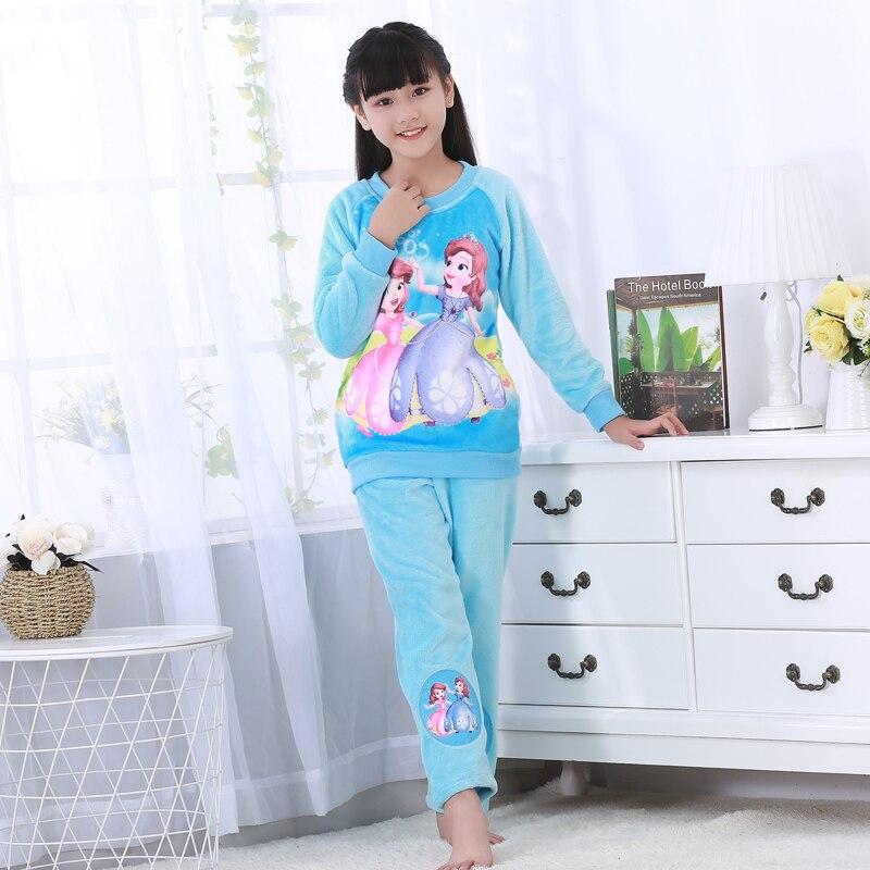 Новинка года; зимняя детская флисовая Пижама; теплая фланелевая одежда для сна; домашняя одежда для девочек из кораллового флиса; детская пижама; домашняя одежда; Пижама для мальчиков - Цвет: model 22