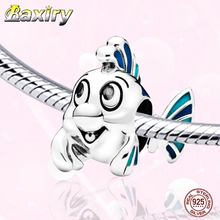 Charms Mickey 925 Sterling Silver Beads Charm Bracelet DIY Beads Fit Bracelet Charms Silver 925 Original Beads Jewelry Making