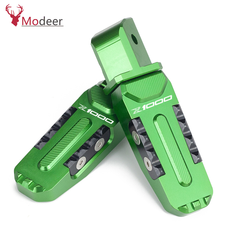 <font><b>Z1000</b></font> Motorcycle Rear Foot Pegs Rests Passenger Footrests For <font><b>KAWASAKI</b></font> <font><b>Z1000</b></font> Z 1000 <font><b>2010</b></font> 2011 2012 2013 2014 2015 2016 2017 2018 image