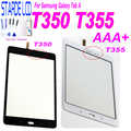 For Samsung Galaxy Tab A T355 T350 SM-T355 SM-T350 Touch Screen Digitizer Sensor Glass Panel Tablet Replacement with Free Tools