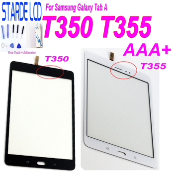 For Samsung Galaxy Tab A T355 T350 SM-T355 SM-T350 Touch Screen Digitizer Sensor Glass Panel Tablet Replacement with Free Tools цена 2017