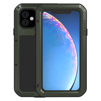 Metal Armor Case For iPhone 11 Pro Max XR XS Max X iPhonex Shockproof Dustproof Luxury full Body Protective Rugged Shell Cover фото