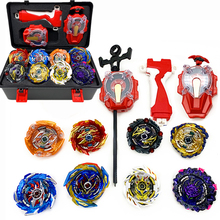 Launcher Beyblades Burst Metal Fusion Toys Toupie-Set Spaking Gyrpscope Children Handlebar