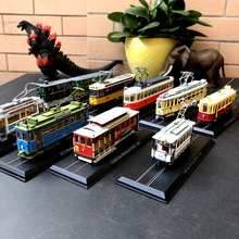 Atlas 1:87 Scale Vintage Train Tram Cars Model Ho Bus Model Collections Diecast Tram Gift Children birthday Gift Toys