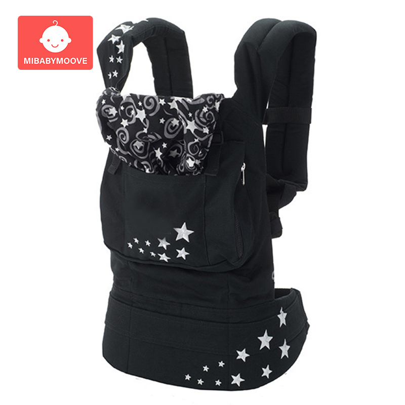 Baby Kangaroo Sling Ergonomic Baby Carrier Front Facing Infant Baby Hipseat Waist Stool Backpack For Baby Travel 0-36M