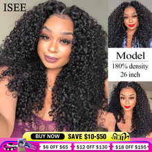 Perruque Lace Front wig mongole naturelle ISEE Hair