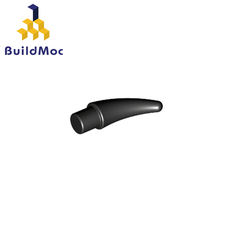 BuildMOC Compatible For Lego53451 Barb/Claw/Horn - Small For Building Blocks Parts DIY Educational Tech Parts Toys