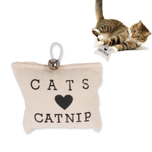 Kawaii Letter Print Cloth Wear Resistant Chew Toys with Bell Ring for Cat Kitten Amusement Playing Scratch Pet Toys Pet Supplies solid color wood wear resistant durable chew toys for pet cat amusement intelligent cat toys interactive pet supplies kitten