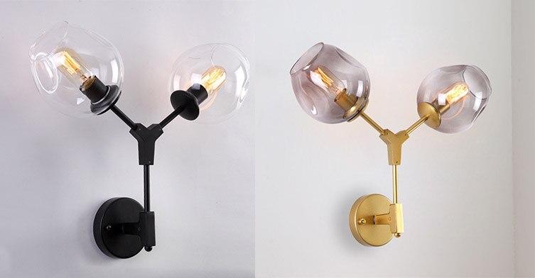 2Heads Wall lamp