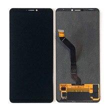 """6.95 """"מקורי Amoled M & סן עבור Huawei Honor הערה 10 LCD מסך תצוגה + לוח מגע Digiziter עבור כבוד הערה 10 RVL AL09 תצוגה"""