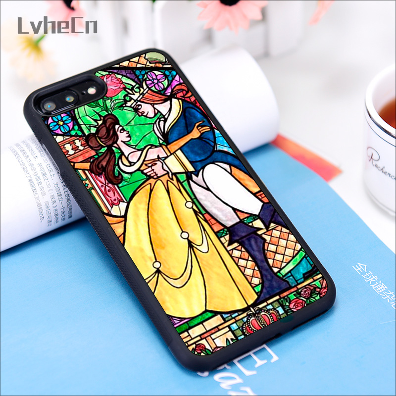 Beauty and The Beast - Stained Glass iPhone 11 case