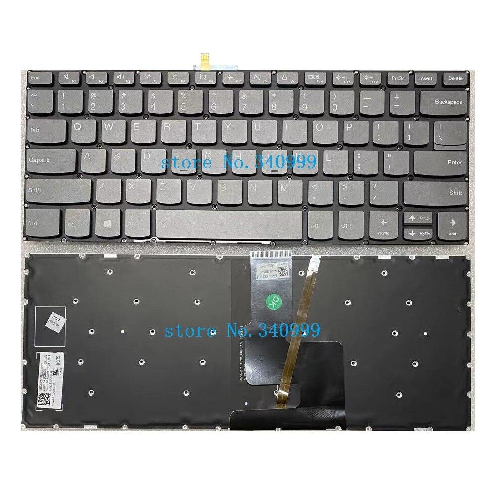 Новый Для Lenovo S340-14 S340-14API S340-14IIL S340-14IML S340-14IWL с подсветкой США Клавиатура ноутбука