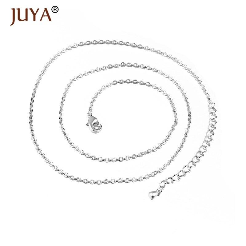JUYA новые аксессуары кулон с жемчужной раковиной модные подвески в форме сердца для изготовления ювелирных изделий Dly - Окраска металла: rose gold 50cm chain