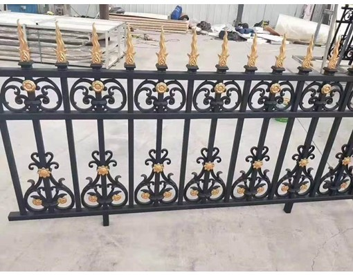 New Style Powder Coated Metal Aluminum Fancy Pool Fences Security