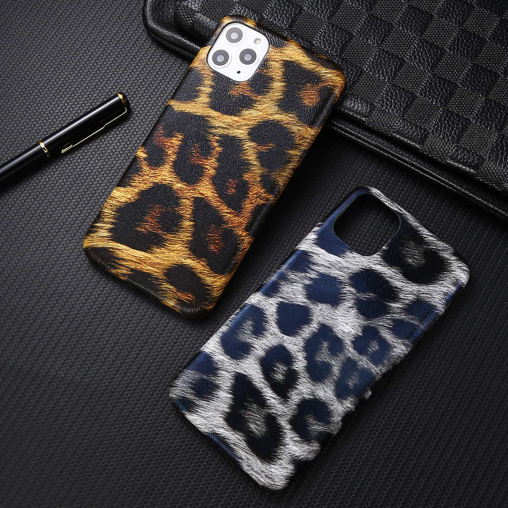 All-inclusive creative leopard print style mobile phone case for iphone6-11pro max mobile phone soft case