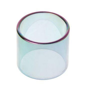 Kolor tęczy wymienna rurka ze szkła borokrzemowego szklany zbiornik dla Smok Vape Pen 22 tanie i dobre opinie Szklana Rurka Glass Tube Szkło for Smok Vape Pen 22 22mm 0 8in 19mm 0 7in Rainbow Color Electroplating