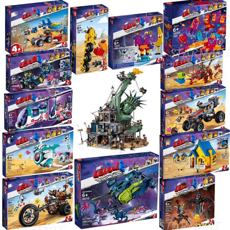 2019 Lepining Movie 2 Welcome To APOCALYPSEBURG 70830 70831 70834 70835 70836 70840 Building Blocks Toys Christmas Gifts