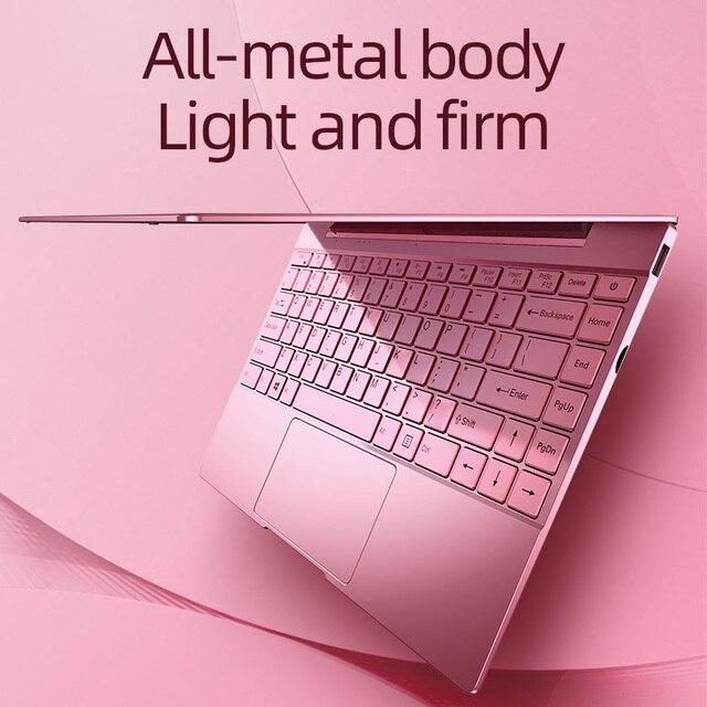 Dere V14 Air 14.1inch Laptop Notebook Intel i7 1920x1080 IPS Backlit Keyboard 8GB 256GB Gaming Computer Windows 10 Pro Mini PC 4
