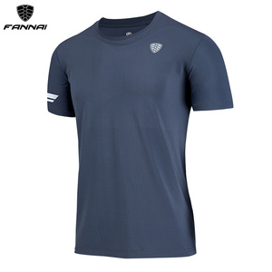 FANNAI Running Shirt Quick Dry T Shirt resists crease Gym Sport Clothing Workout Top men workout shirts FN42(China)