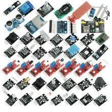 45 ב 1 חיישני מודולים ערכת המתחילים Arduino UNO R3 מגה 2560 ננו טוב יותר מ 37in1 חיישן ערכת 37 ב 1 חיישן ערכת diy ערכה