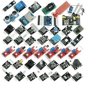 Image 1 - 45 in 1 Sensors Modules Starter Kit for Arduino UNO R3 Mega 2560 Nano better than 37in1 sensor kit 37 in 1 Sensor Kit diy kit