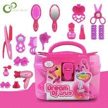 72個ふりキッドメイクアップおもちゃセットシミュレーション理髪おもちゃ女の子ドレッシング化粧品トラベルボックスgyh