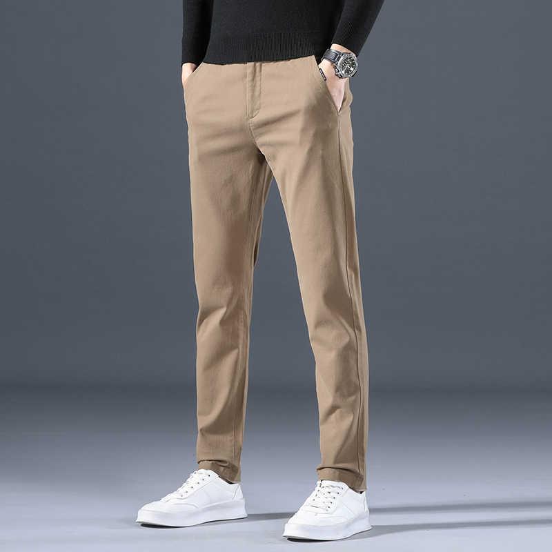 Pantalones Deportivos Informales De Talla Grande 38 36 34 Para Hombre Ropa Ajustada De Longitud Completa Estilo Coreano Tendencia De Otono E Invierno Moda Juvenil Pantalones Vaqueros Aliexpress