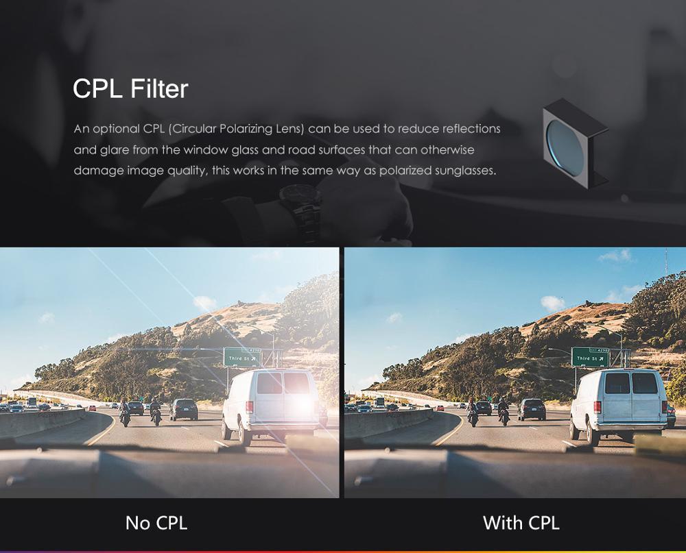 Car DVRS Dash Cam with Rear View Camera Car Video Recorder Full HD Night Vision 2 Camera Recorder with G-sensor A129DUO Dashcam 5