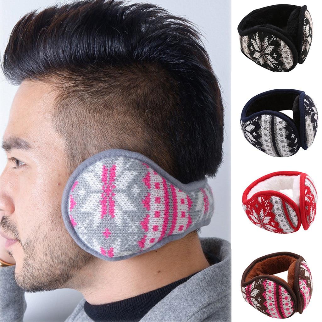 Fashion Winter Adult Cold Protection Earmuffs Solid Unisex Foldable Winter Earmuffs WinterWindproof Ear Warmer Thicken Earmufuff