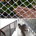 Tewango 3 см Сетка лестничная Защитная сеть для балкона дворовая ограда детей малышей животных анти-падающая палубная Защитная планка пользова...