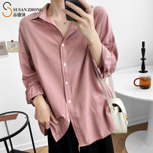 Женские рубашки женские блузки топы с длинными рукавами «летучая