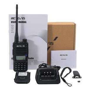 Image 5 - Retevis RT85 Analog Walkie Talkie 5W UV Dual Band Handheld Two Way Radio with Screen Keyboard VOX FM Radio Portable Transceiver