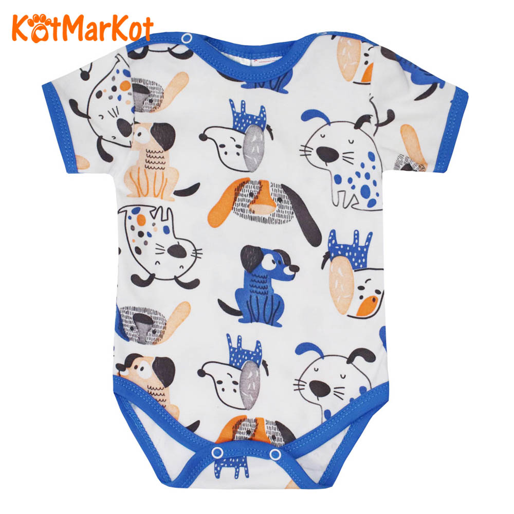 Body Long Sleeve For Boys Kotmarkot Funny Puppies, 9130511