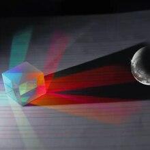 28*28*28 мм Крест Двуцветные x cubic prism из оптического стекла