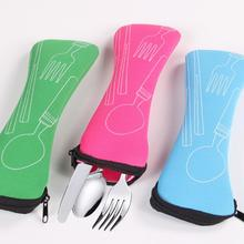 Tableware-Bag Spoon-Bag Storage-Box Fork Dinnerware-Sets Travel-Packaging Picnic Portable