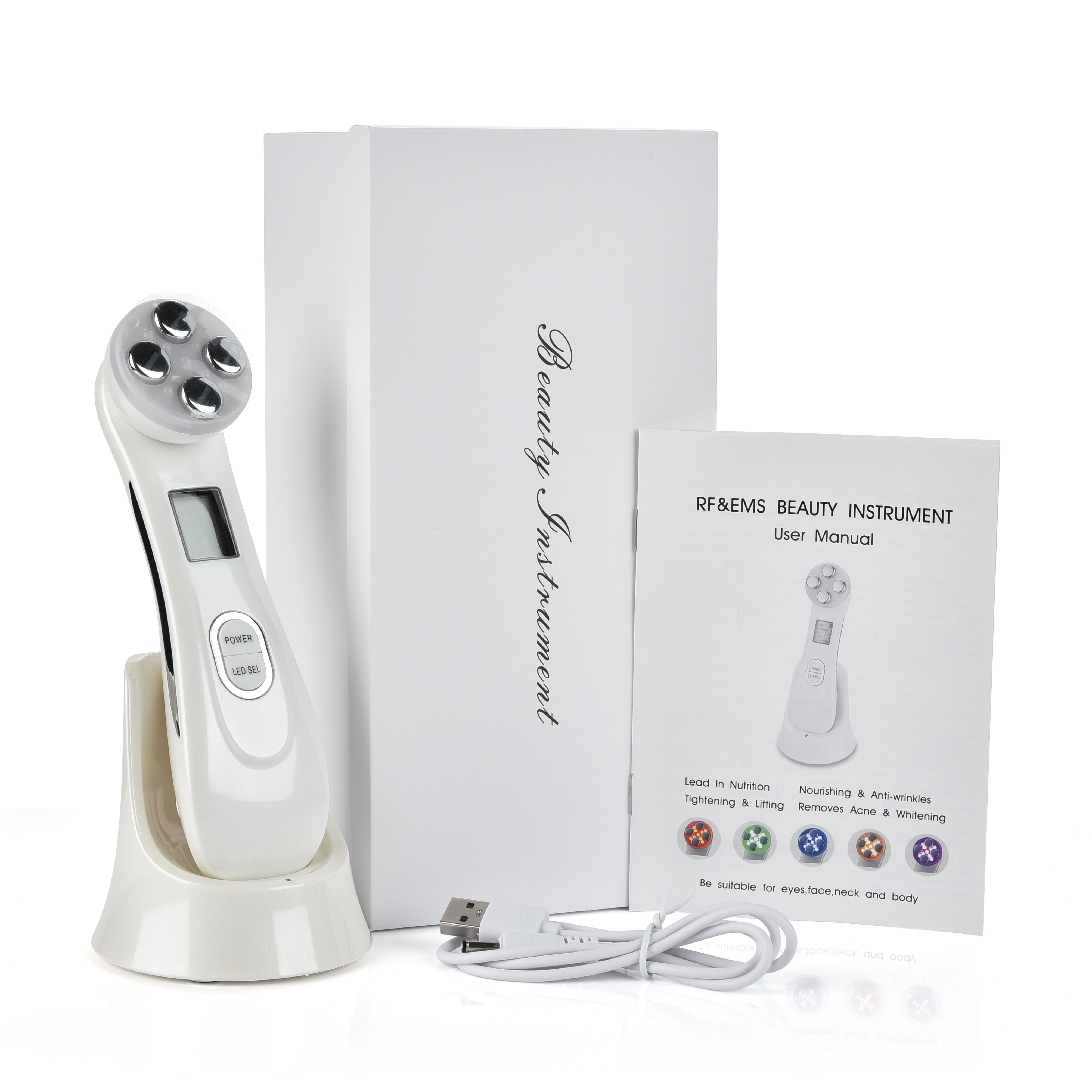 5 in 1 LED Skin Tightening Massage Device